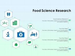 Food Science Research Ppt Powerpoint Presentation Portfolio Graphics Example