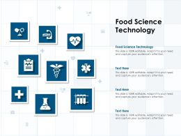 Food Science Technology Ppt Powerpoint Presentation Professional Background Images