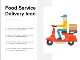 Food Service Delivery Icon