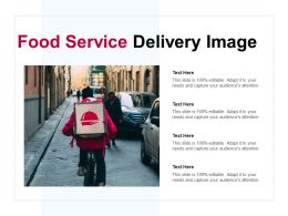Food Service Delivery Image