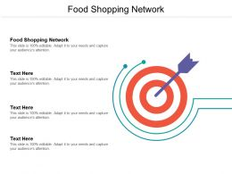 Food Shopping Network Ppt Powerpoint Presentation Gallery Designs Download Cpb