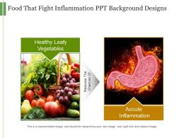 Food That Fight Inflammation Ppt Background Designs