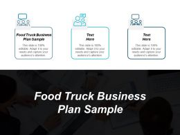 Food Truck Business Plan Sample Ppt Powerpoint Presentation Portfolio Inspiration Cpb