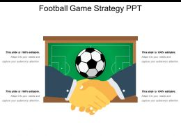 Football Game Strategy Ppt