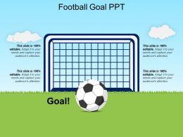 Football Goal Ppt