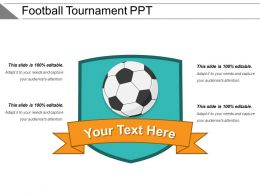 Football Tournament Ppt
