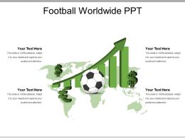 Football Worldwide Ppt