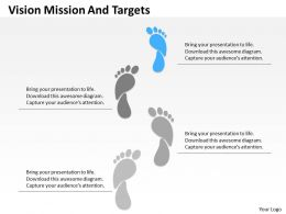 Footpath Diagram For Vision And Mission Diagram 0214