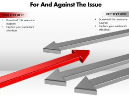 For And Against The Issue Editable 11
