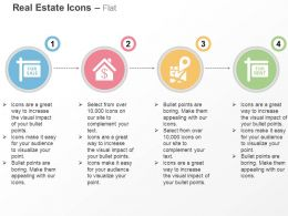 For Sale For Rent Property Location Representation Ppt Icons Graphics