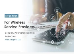 For Wireless Service Providers Powerpoint Presentation Ppt Slide Template