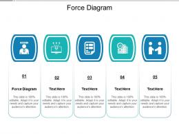 Force Diagram Ppt Powerpoint Presentation Infographic Template Visual Aids Cpb