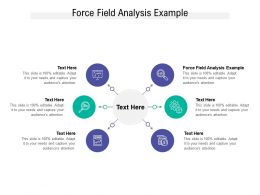 Force Field Analysis Example Ppt Powerpoint Presentation Icon Pictures Cpb