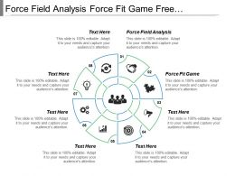 Force Field Analysis Force Fit Game Free Association