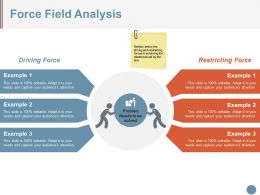 Force Field Analysis Ppt Sample Download