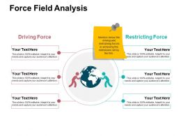 Force Field Analysis Ppt Samples Download