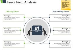 Force Field Analysis Presentation Images