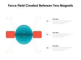 Force Field Created Between Two Magnets