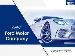 Ford Motor Company Company Profile Overview Financials And Statistics From 2014-2018