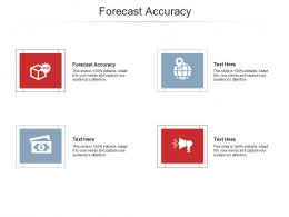 Forecast Accuracy Ppt Powerpoint Presentation Model Portrait Cpb