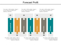 Forecast Profit Ppt Powerpoint Presentation Gallery Graphic Images Cpb