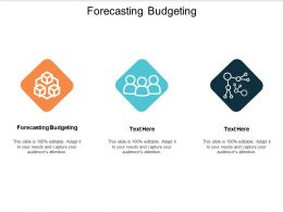 Forecasting Budgeting Ppt Powerpoint Presentation Pictures Design Templates Cpb