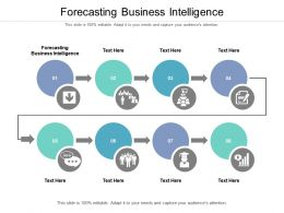Forecasting Business Intelligence Ppt Powerpoint Presentation Layouts Slideshow Cpb