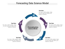 Forecasting Data Science Model Ppt Powerpoint Presentation Model Files Cpb