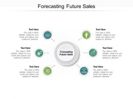 Forecasting Future Sales Ppt Powerpoint Presentation Pictures Vector Cpb