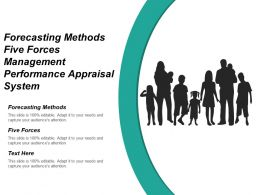 Forecasting Methods Five Forces Management Performance Appraisal System Cpb