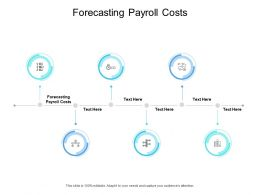 Forecasting Payroll Costs Ppt Powerpoint Presentation Styles Aids Cpb