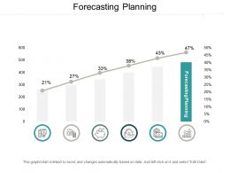 Forecasting Planning Ppt Powerpoint Presentation Infographic Template Guide Cpb