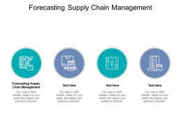 Forecasting Supply Chain Management Ppt Powerpoint Presentation Inspiration Cpb