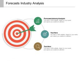 Forecasts Industry Analysis Ppt Powerpoint Presentation Inspiration Template Cpb