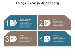 Foreign Exchange Option Pricing Ppt Powerpoint Presentation Inspiration Picture Cpb