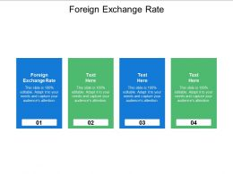 Foreign Exchange Rate Ppt Powerpoint Presentation File Picture Cpb