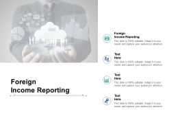 Foreign Income Reporting Ppt Powerpoint Presentation Model Objects Cpb