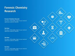 Forensic Chemistry Research Ppt Powerpoint Presentation Inspiration Influencers