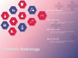 Forensic Radiology Ppt Powerpoint Presentation Outline Inspiration