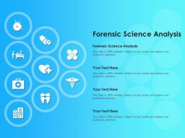 Forensic Science Analysis Ppt Powerpoint Presentation Professional Slide Download