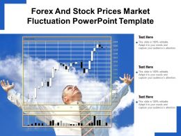 Forex And Stock Prices Market Fluctuation Powerpoint Template