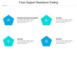 Forex Support Resistance Trading Ppt Powerpoint Presentation File Templates Cpb