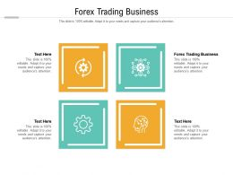 Forex Trading Business Ppt Powerpoint Presentation Layouts Deck Cpb