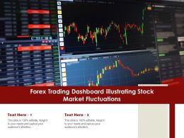 Forex Trading Dashboard Illustrating Stock Market Fluctuations