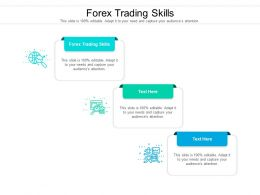 Forex Trading Skills Ppt Powerpoint Presentation Ideas Guidelines Cpb