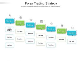 Forex Trading Strategy Ppt Powerpoint Presentation Icon Diagrams Cpb