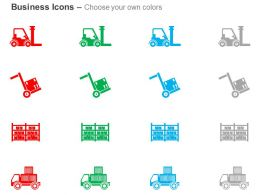 forklift_cart_warehouse_truck_shipping_ppt_icons_graphics_Slide02
