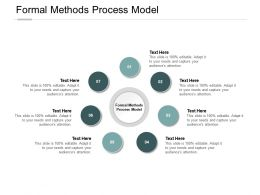 Formal Methods Process Model Ppt Powerpoint Presentation Infographic Cpb