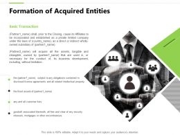 Formation Of Acquired Entities Fixed Assets Ppt Powerpoint Presentation Styles