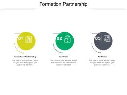 Formation Partnership Ppt Powerpoint Presentation Model Outline Cpb